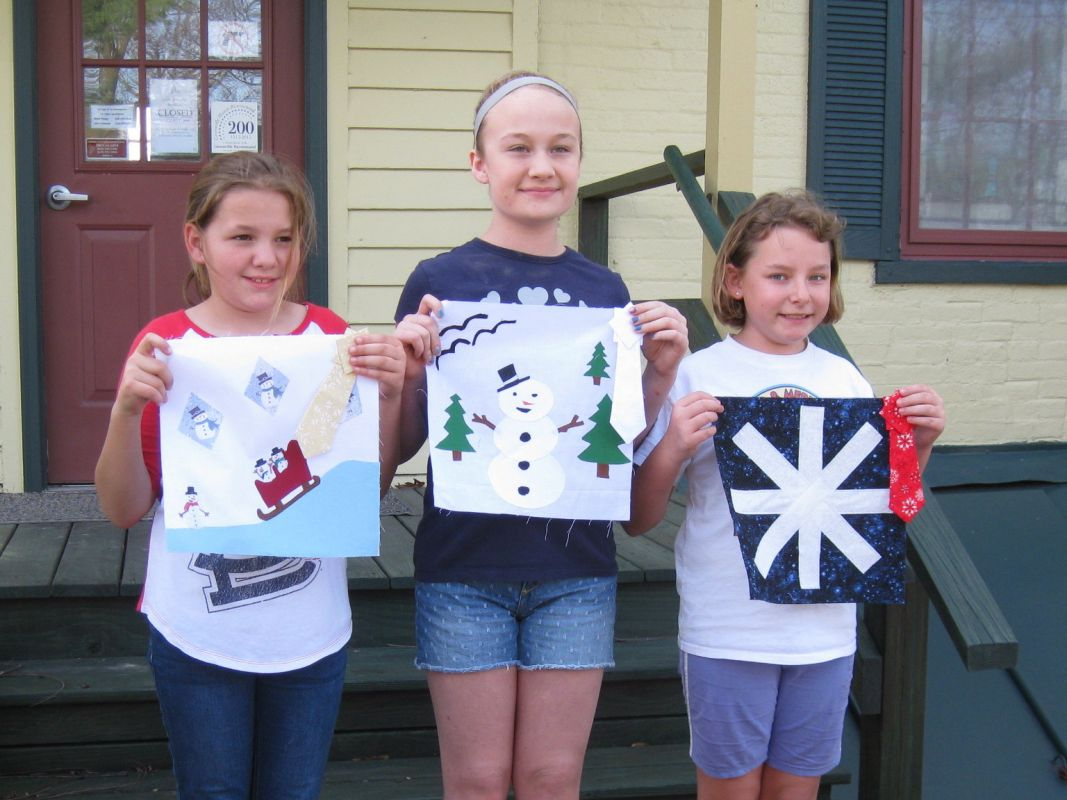Quilt Block Contest Entries Ages 9-12