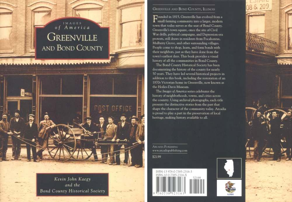 Images Of America: Greenville & Bond County Book
