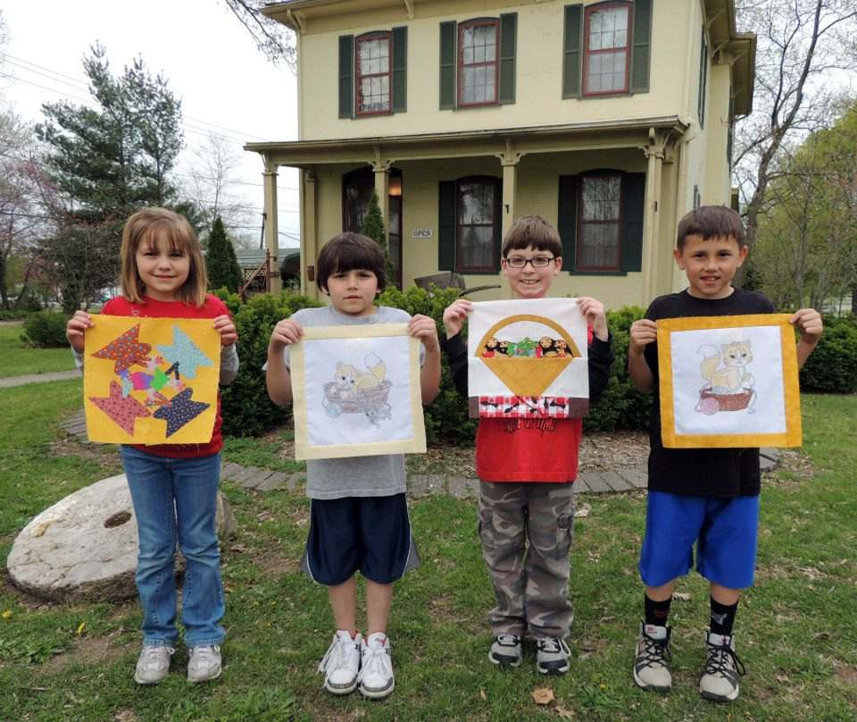 2013 Quilt Block Winners (Ages 5-8)