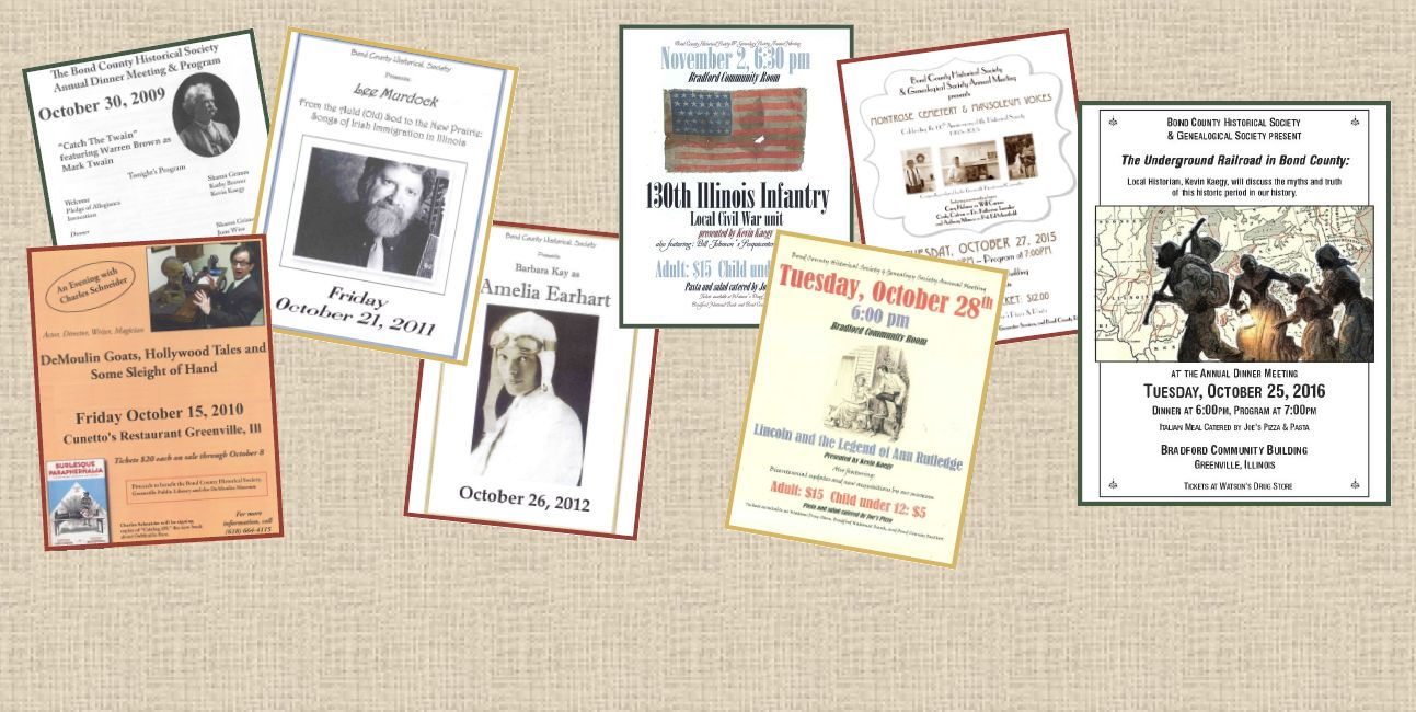 Past Annual Meetings Poster Collage