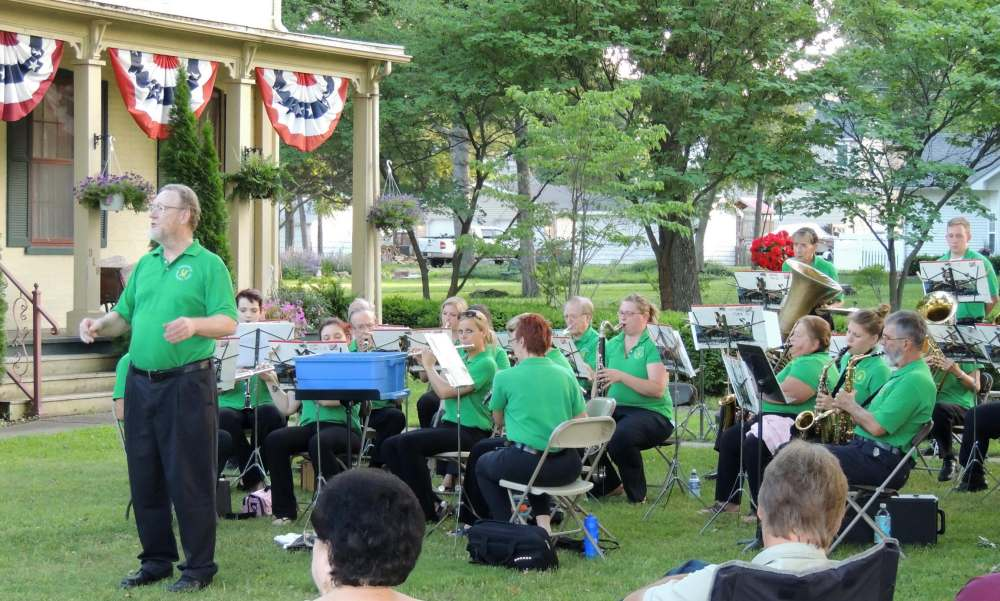 Greenville Municipal Band with BCHS Pie and Ice Cream Social
