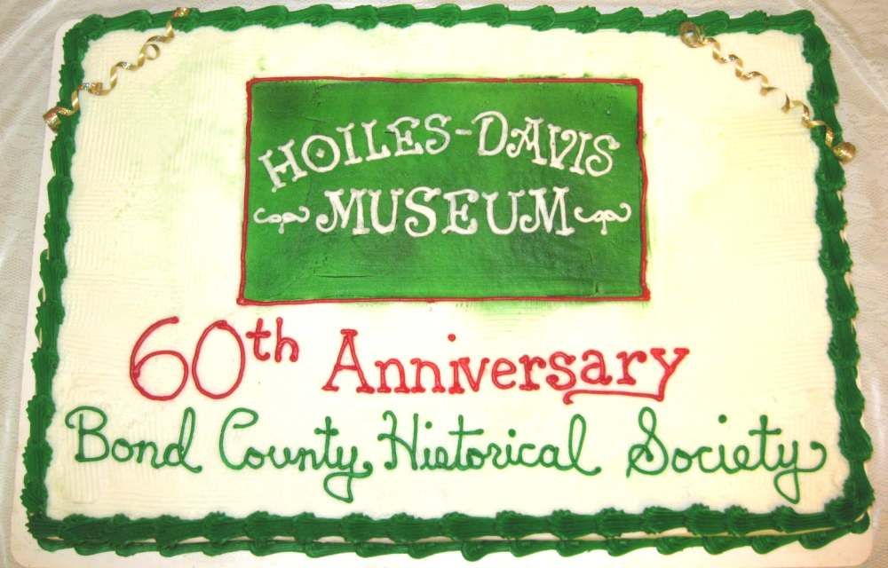 Celebrating 60 years of Bond County Historical Society: 1955-2015