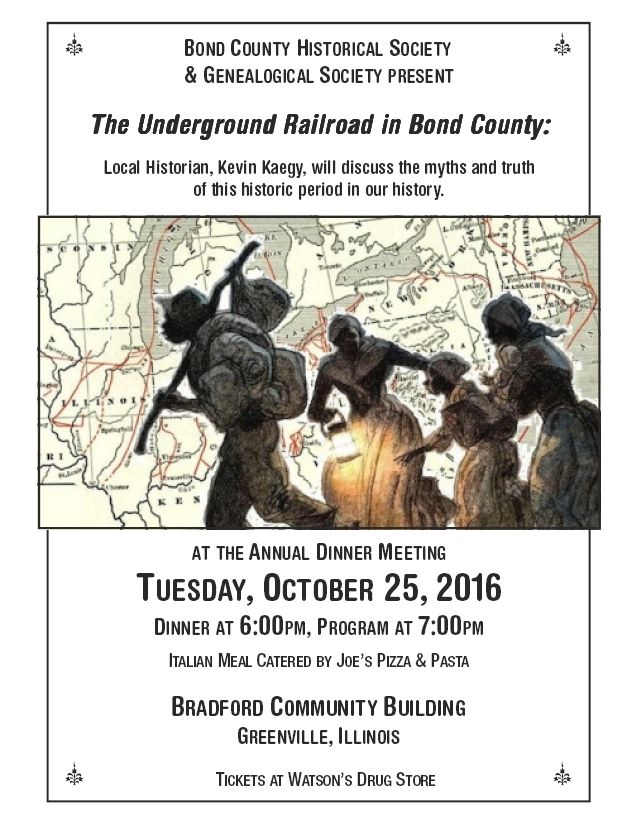 The Underground Railroad in Bond County